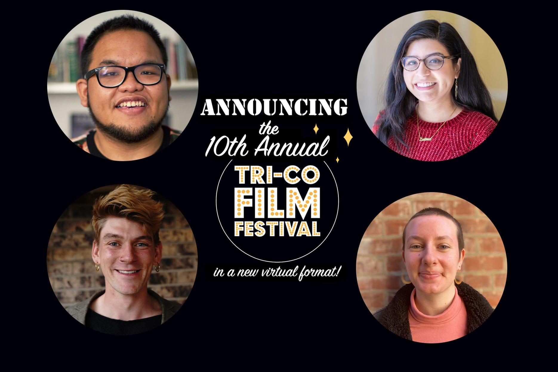 the 2021 tri-co film fest team